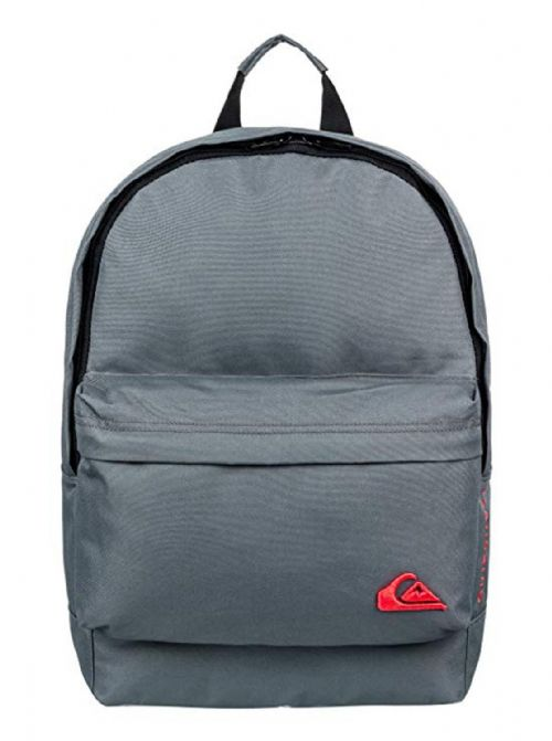 QUIKSILVER MENS BACKPACK BAG.NEW EVERYDAY GREY SCHOOL RUCKSACK 18L 8W 511 KZMO